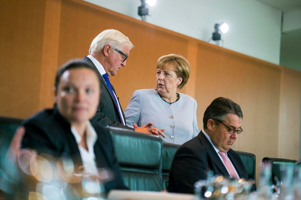 Kabinettssitzung 2016